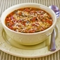 Recipe for Italian Sausage and Kale Soup with Whole Wheat Spaghetti Pieces