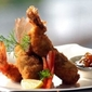Coconut Prawns with Mango Chutney