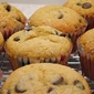 Salty Sweet Chocolate Chip Muffins