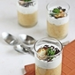 Verrine: Savoury Pumpkin Coconut Mousse With Herbed Mascarpone