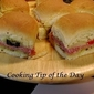 Recipe: Italian Mini Party Sandwiches