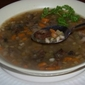Hearty Crimini Mushroom and Barley Soup