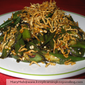 Okra (Lady's Fingers) And Anchovies Stir Fry