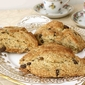Crystallized Ginger & Chocolate Scones Recipe with Homemade Oat Flour