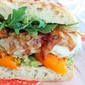 The sandwich for uncomplicated people – Spicy chicken herb patty sandwich