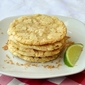 Coconut Lime Chewy Sugar Cookies