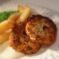 Cod Fish Cakes and Tartar Sauce