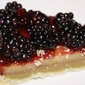 Blackberry tart from Rebecca's bakery in Aspen CO
