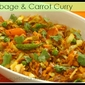 Cabbage & Carrot Curry - North Indian Style