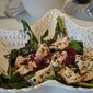 Grilled Chicken and Raw Beetroot Salad