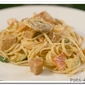Shrimp and Andouille Pasta with Four Cheese Rosa