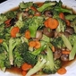 Stir-Fried Broccoli with Straw Mushrooms