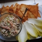 Party bites: Easy crab appetizer with endive cups and wonton crisps