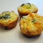 White Cheddar Spinach Mini Quiche