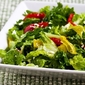 Recipe for Peperoncini Chopped Salad with Romaine, Red Bell Pepper, and Feta