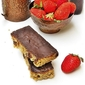 DOUBLE CHOCOLATE STRAWBERRY AND OAT ENERGY BARS ... healthy & delish!!