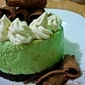 Improvised Green Tea Cheesecake
