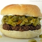 Burger Blogger Club: Green Chile Pepper & Cream Cheese Burgers