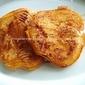 Eggless Pineapple & Mango Semolina Pancake