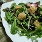 Bites of Bittman - Warm Salad of Scallops and Tender Greens