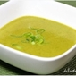 Green Curry Asparagus Soup