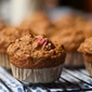 Rhubarb, Ginger and Pumpkin Muffin Recipe