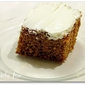 "Applesauce Cake with ""Cream Cheese"" Frosting"