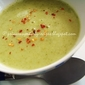 Vegan Velouté De Brocolis /Creamy Broccoli Soup With Coconut Milk
