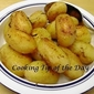 Recipe: Garlicy Oven Roasted Potatoes