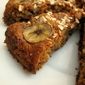 Low Fat Chocolate and Banana Oat Cake