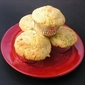 Savory Corn & Red Pepper Muffins