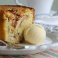 Springtime Apple and Cinnamon Cake . . .