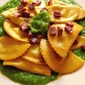 Ravioli with Peas and Prosciutto
