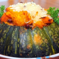 Chili Con Crab in Kabocha