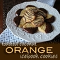 Toasted Coconut Orange Icebox Cookies