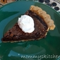 Chocolate Chess Pie ~ Potluck Sunday