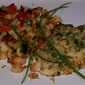 Savory Herb Crusted Chicken with Zucchini Hash Browns