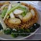 Easy Crispy Noodle (Sheng Mian)