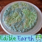 Edible Earth: Rice Krispy Treats for Earth Day