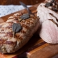 Mustard and Sage Grilled Pork Tenderloin