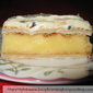 Vanilla Custard Slice With Passion Fruit Icing
