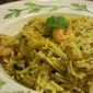 Sinhalese Prawn Pasta - Gluten, Wheat and Dairy free!