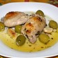 Lemon-garlic Chicken with Olives