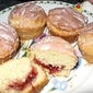Cherry Jammy Doughnut Cupcakes