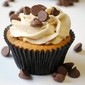 From Invitations to Dessert: Chocolate Chip Cookie Dough Cupcakes