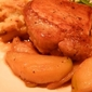 Pork Tenderloin With Gingered Apples