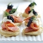 Recipe #101: Blini with Caviar & Smoked Salmon