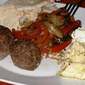 Mezze for dinner (recipes for Kibbe and Labneh)