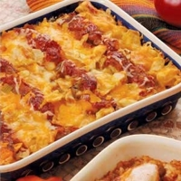 Image of Chicken And Tortilla Casserole Recipe, Cook Eat Share