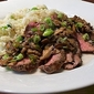 Recipe #103: Ginger Sesame Beef with Scallions